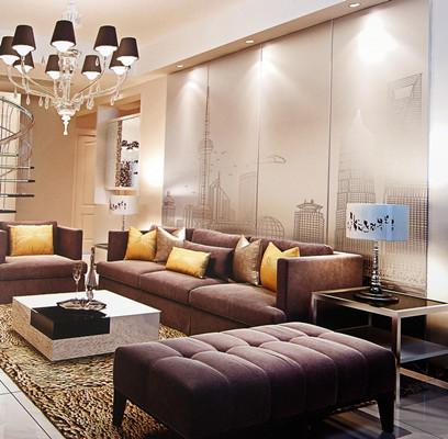 沙发装饰皮革制作