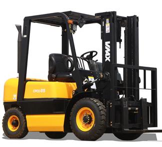 2.5 Diesel Forklift Truck