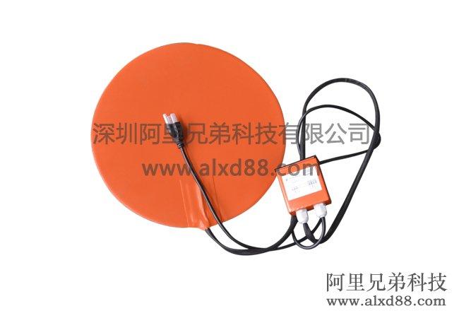 圆形带数显温控及插头加热片