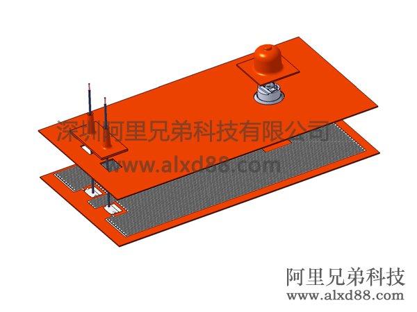 硅胶加热片结构图