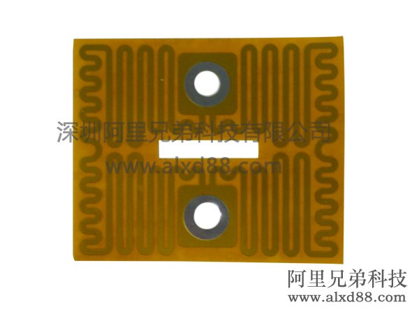 方形带孔位PI加热膜