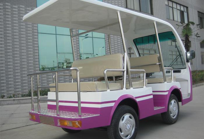 城市六座观光车