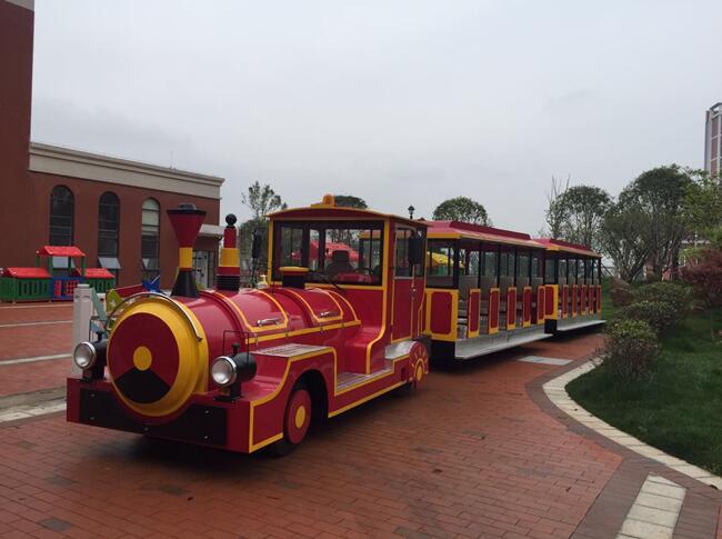大型电动观光火车