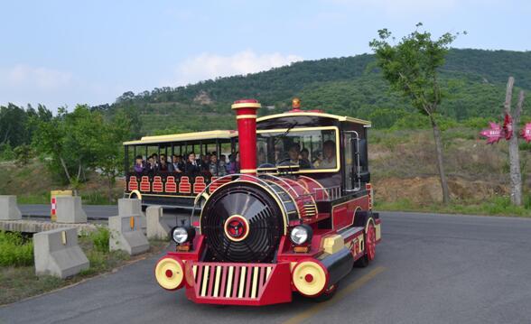 公园电动观光火车