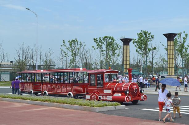 游乐园电动观光火车