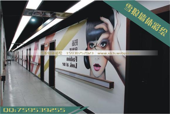 河南商场壁画制作