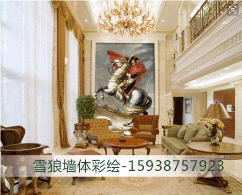 郑州会所壁画制作