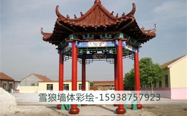郑州古建筑彩绘施工