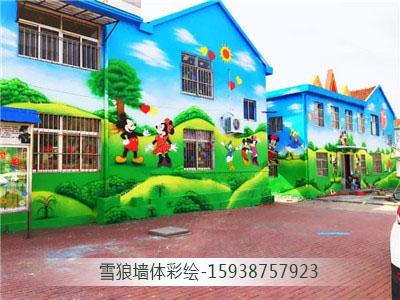 郑州幼儿园彩绘