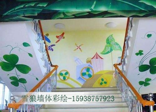 焦作幼儿园墙体彩绘