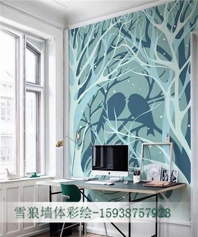 郑州墙体彩绘公司