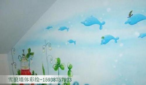 郑州墙体彩绘设计
