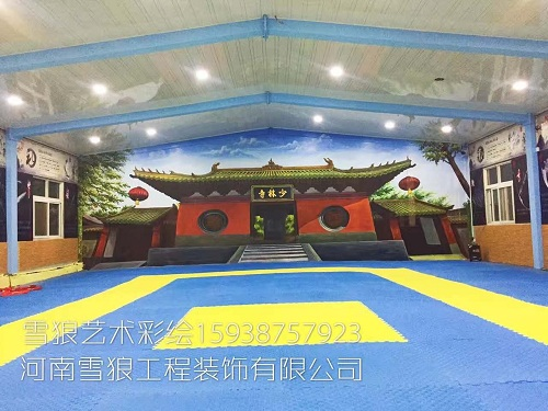 郑州文化墙彩绘公司