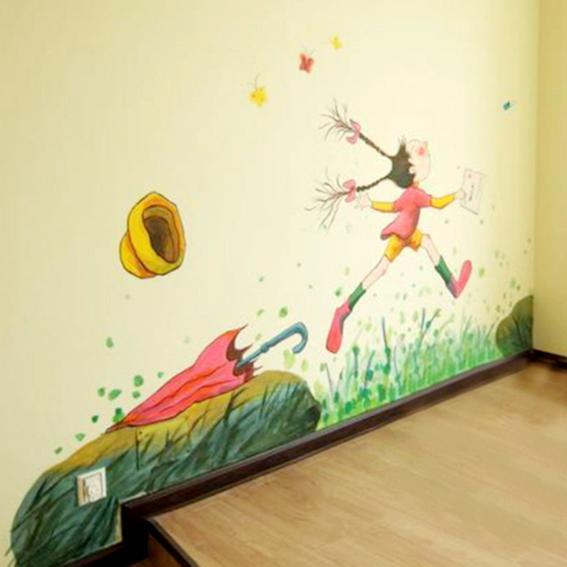 学校墙体彩绘公司