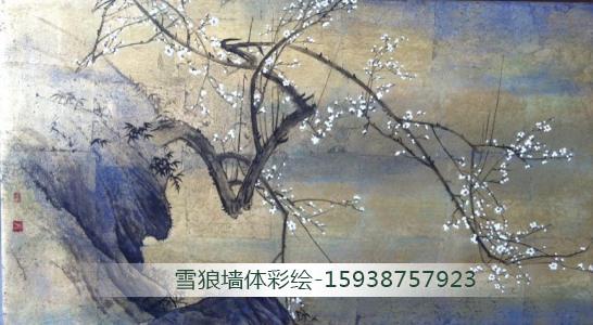 河南文化墙彩绘