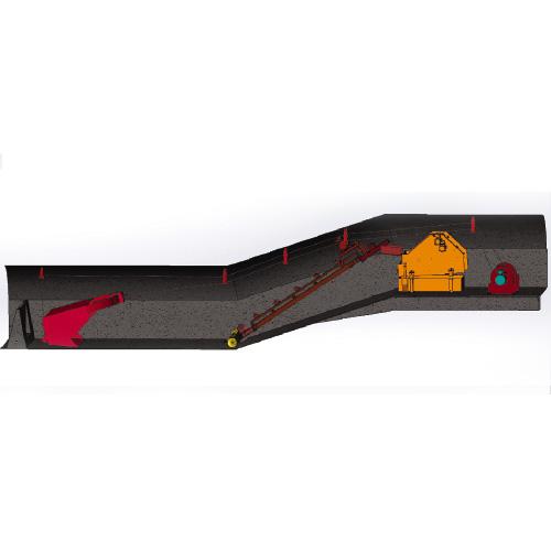 煤矿水仓主动凊挖设备