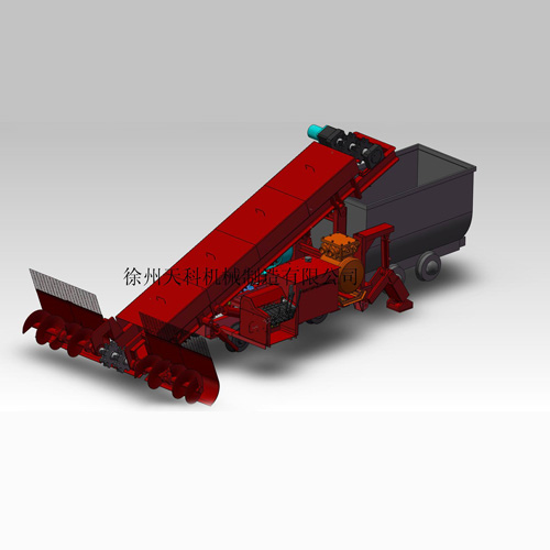 MQ-50型多功能煤泥清挖机