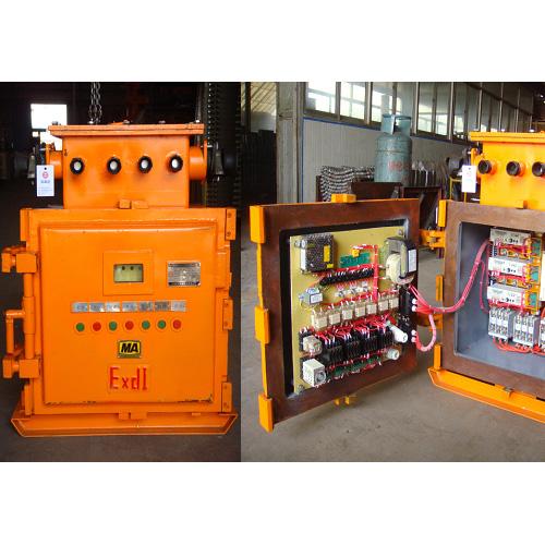 三回路矿用隔爆兼本质安全型真空电磁启动器