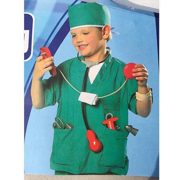绿色医生服装