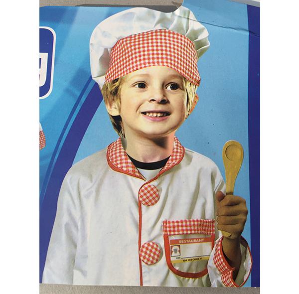 儿童厨师服装