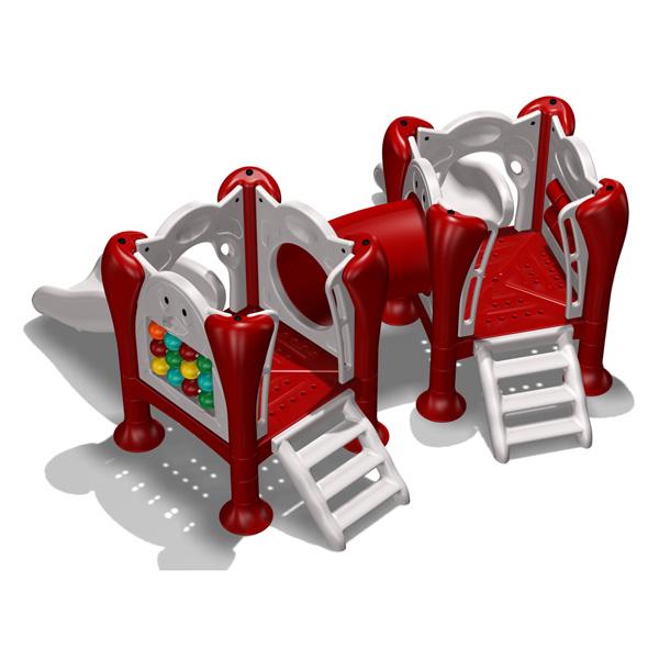 新塑料儿童游乐设备