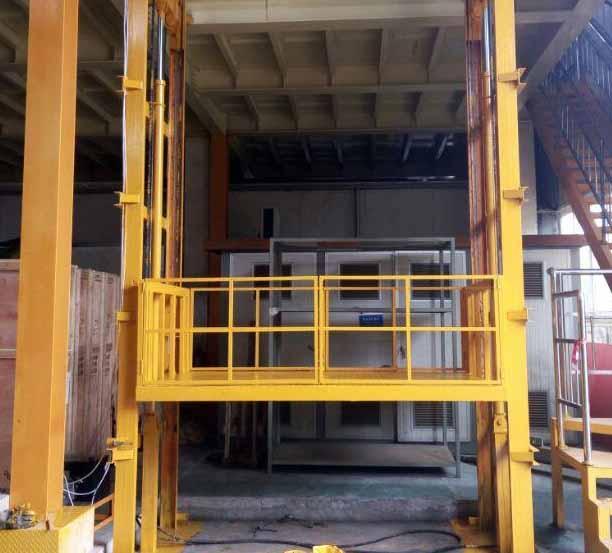 导轨链条货梯