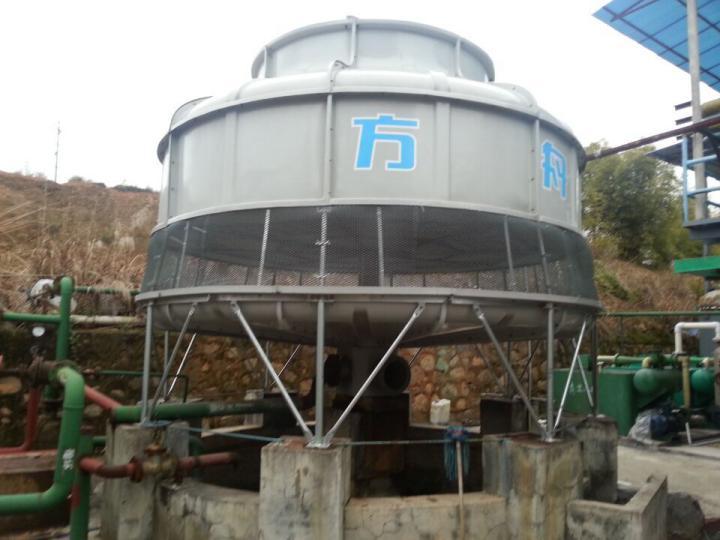 圆形开式冷却塔