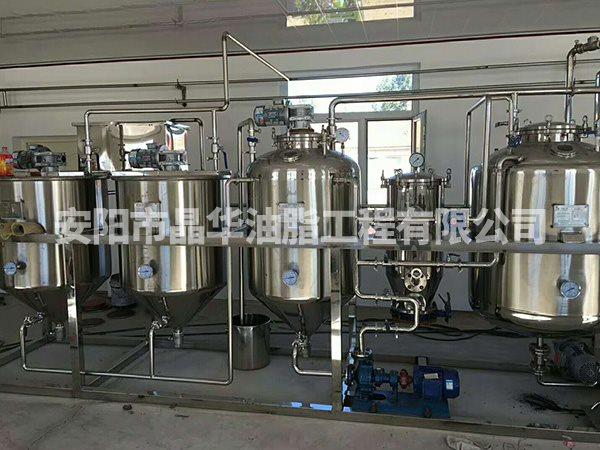 精炼植物油设备