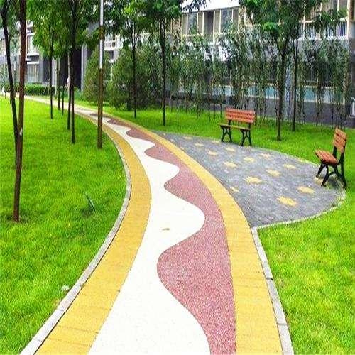 贵州透水混凝土地坪施工