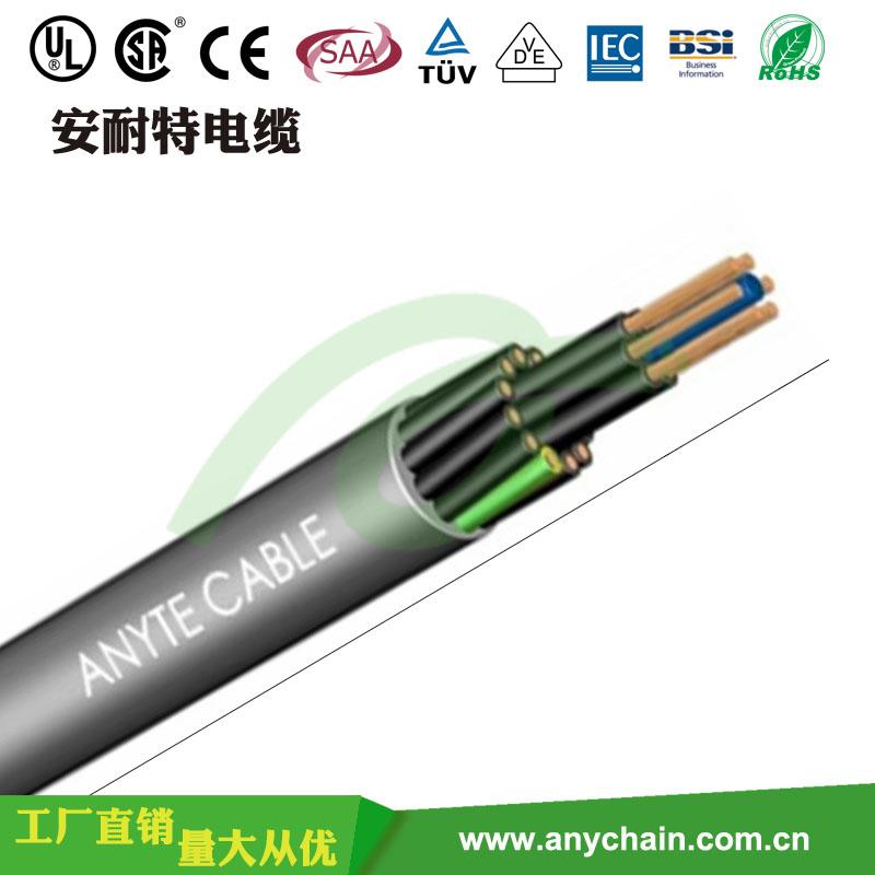 TRVV低速柔性拖链电缆