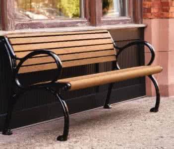 防腐木市政座椅