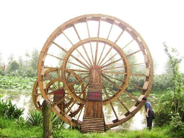贵州防腐木水车