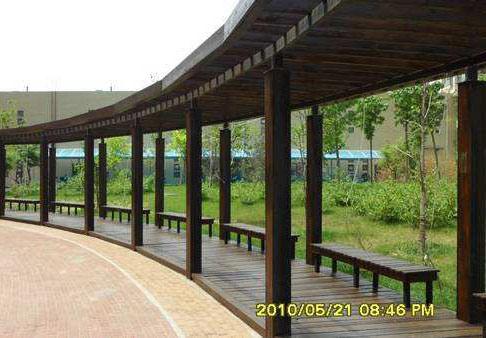 铜仁防腐木长廊