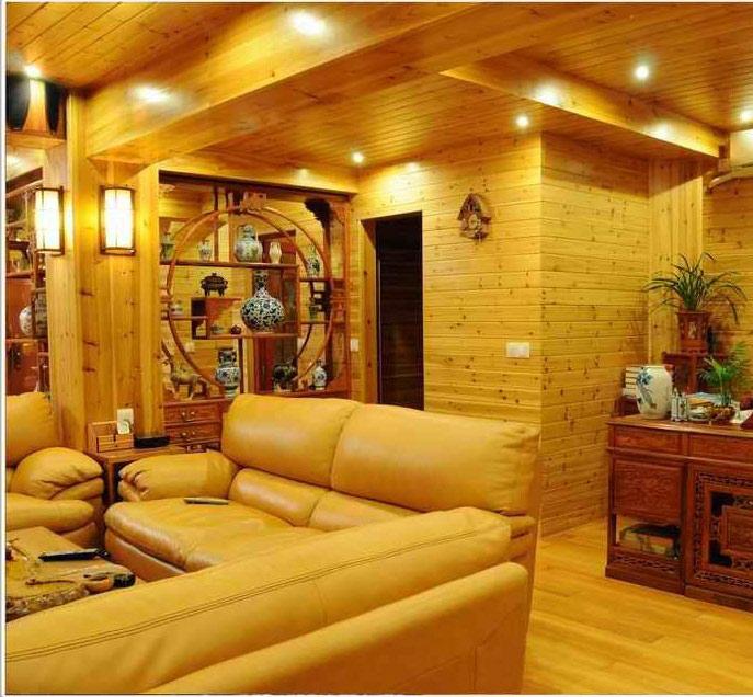 贵州防腐木室内装修
