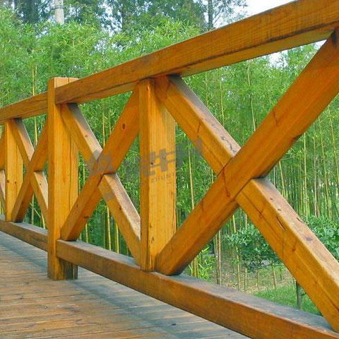 贵州防腐木栏杆设计