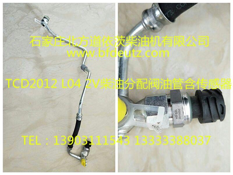 TCD2012 L04 2V 柴油分配阀油管含传感器