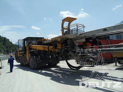 BOOMER水平钻TCD2012L062V检修