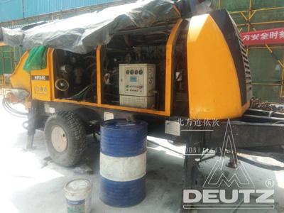 三一地泵80c现场维修