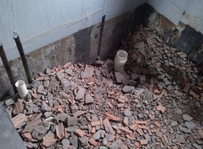 卫生间建渣回填