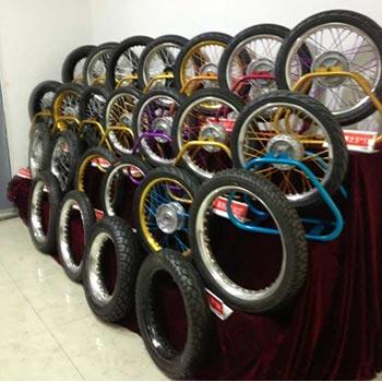 多品种轮毂展示