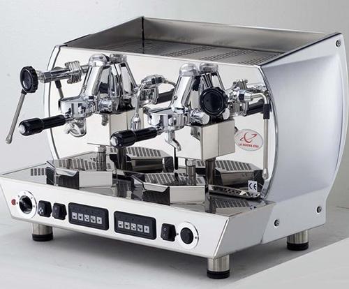 半自动意式双头咖啡机
