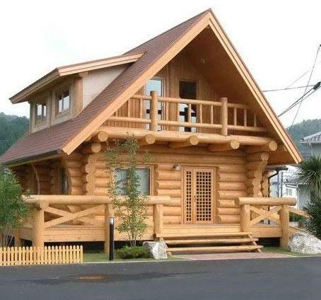 遵�x防腐木房子
