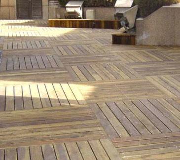 貴陽防腐木地板批發