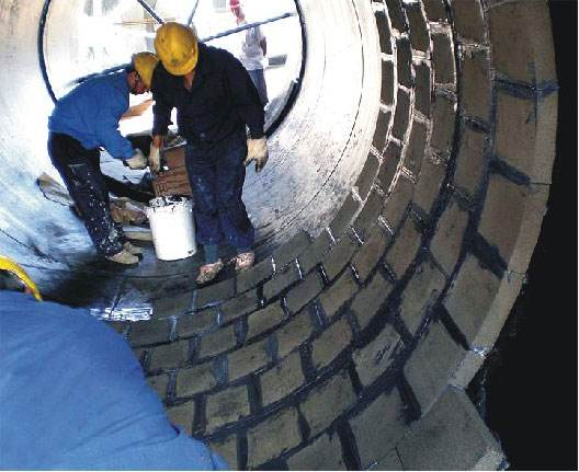砼烟囱内壁维修防腐