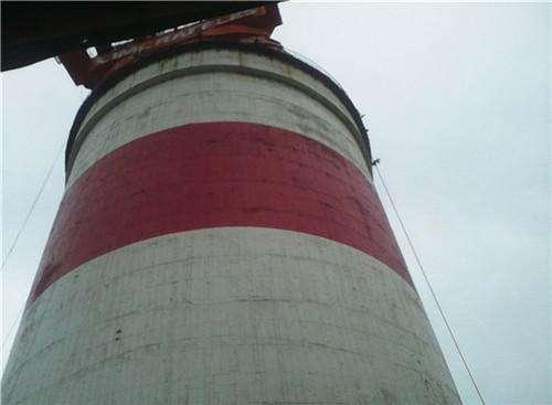 砖烟囱内壁防腐维修