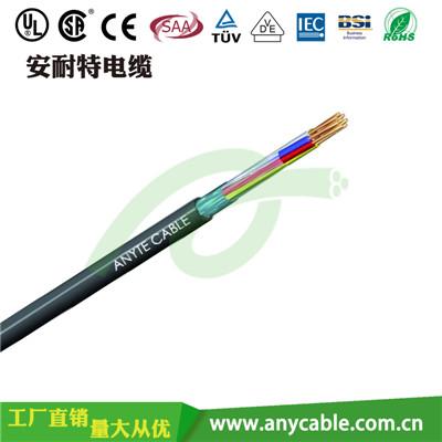 ANYCERT-UL2517 UL2517聚氯乙烯多芯可选屏蔽耐热控制电线
