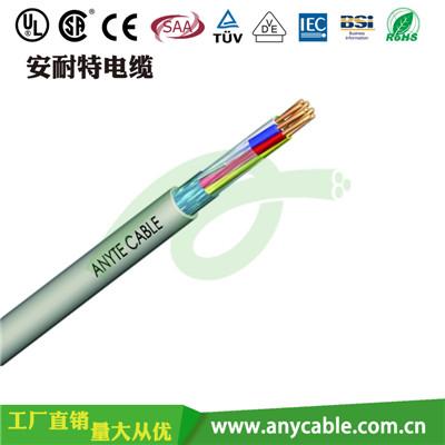 ANYCERT-UL2571 UL2571聚氯乙烯多芯屏蔽控制电缆