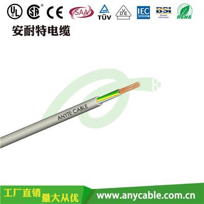 ANYFLEX-KVV聚氯乙烯绝缘聚氯乙烯护套控制电缆