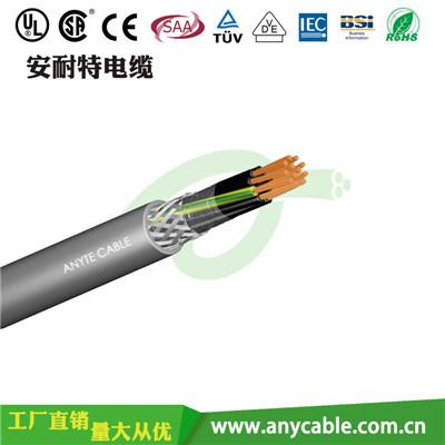 ANYFLEX-KVVP聚氯乙烯绝缘聚氯乙烯护套屏蔽控制电缆