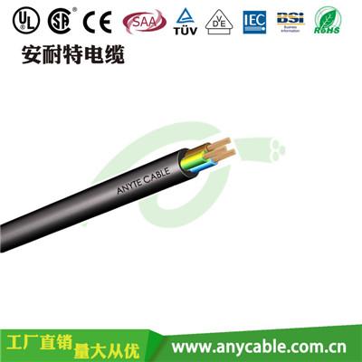 ANYCERT-CE/TUV/VDE-H05V2V2-F   H05V2V2-F 阻燃聚氯乙烯绝缘护套电线